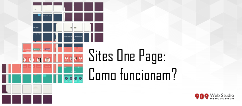 Sites One Page: como funcionam?