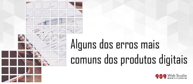 Erros comuns na execução de um projeto